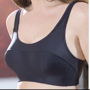 Elila sport bra black size 42E/DD